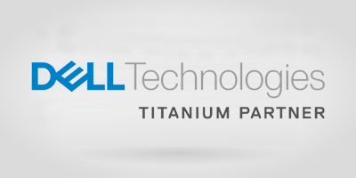 Logo Dell Technologies - Titanium Partner