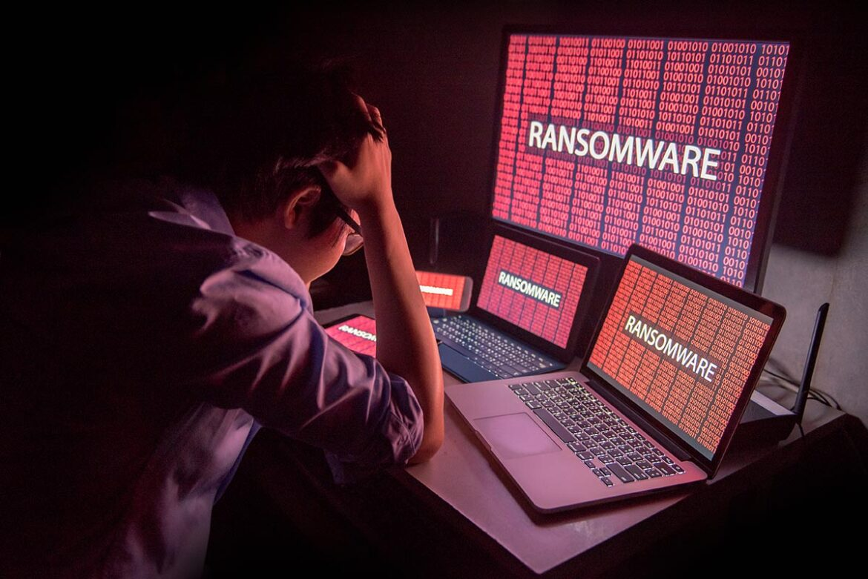 Bild zu Ransomware - Cyber attack