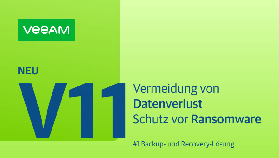 Veeam Availability Suite Version 11 Promobild