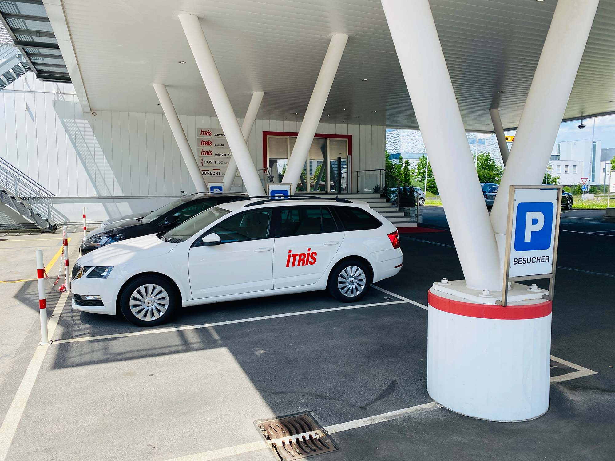 ITRIS Standort Spreitenbach Parkplätze